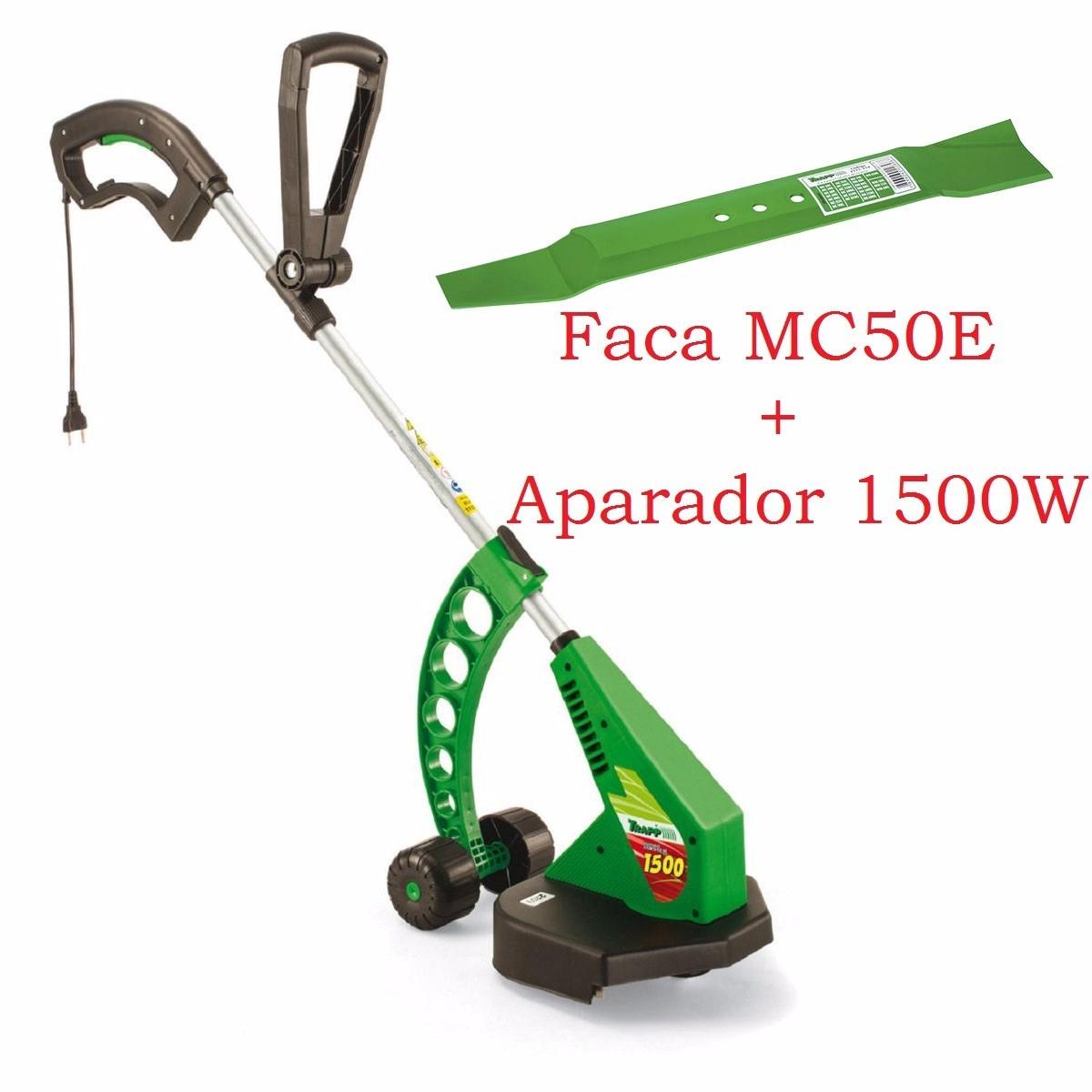 Artesanato Em Feltro Para Bebe ~ Aparador 1500w + Faca Lamina Mc50e Cortador De Grama Trapp