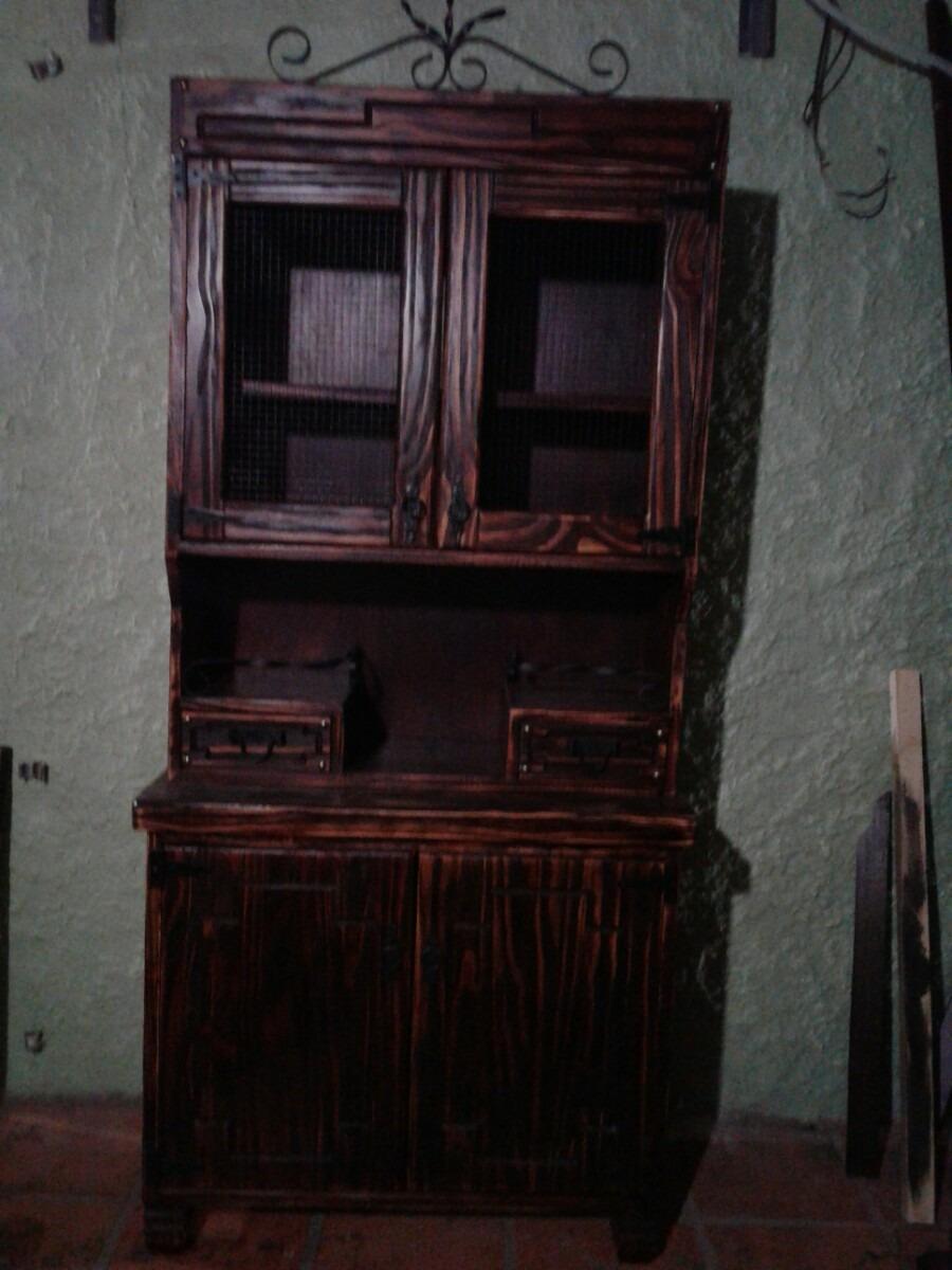 Aparador alacena mueble de cocina o comedor for Mueble esquinero para comedor