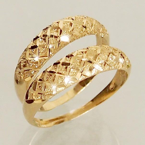 Anel Aparador De Aliança Em Ouro 18k 750 Feminino R$ 770,00 em Mercado Livre