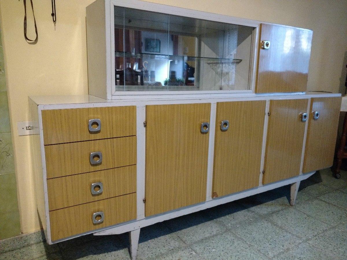 Aparador Antiguo De Cocina, Retro, Mueble Antiguo - $ 2.500,00 en ...