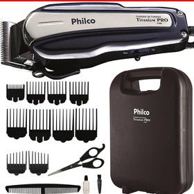 Aparador Barba E Cabelos Philco15 Peças Profissional+maleta