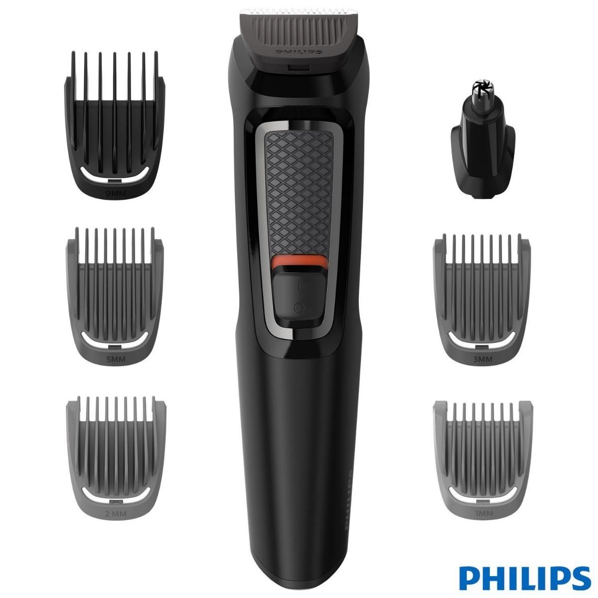 0d8c6f1d2 Aparador Barbeador Elétrico 7em1 Philips Mg3721/15 Bivolt - R$ 169 ...