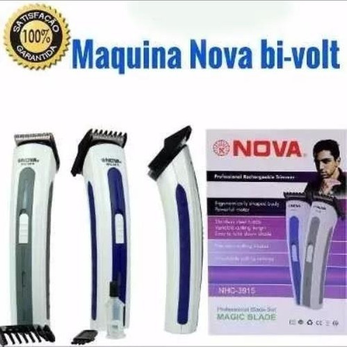 aparador barbeador eletrico nova nhc-3915  barato