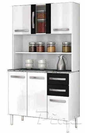 Aparador Cocina Kit 6 Puertas Despensero Organizador - $ 2.680,00 en ...
