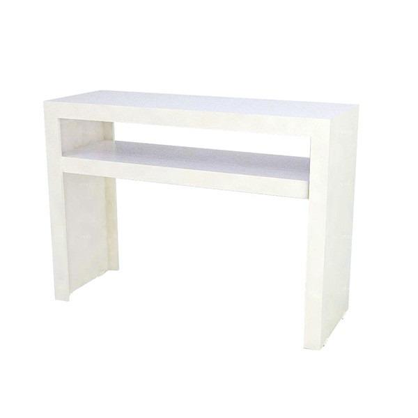 Aparador Sofa ~ Aparador Comac Modelo U Com Prateleira Em Mdf Cor Branco