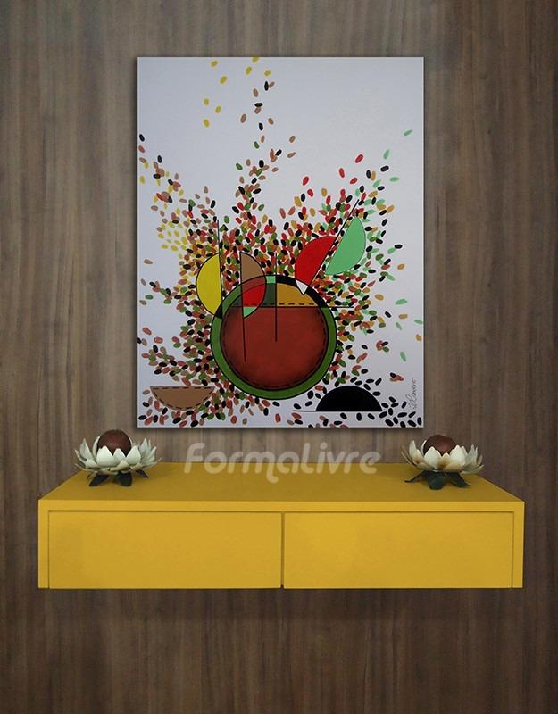 Artesanato Açores ~ Aparador Console Penteadeira Quarto Sala Hall Amarelo Laca R$ 468,00 em Mercado Livre