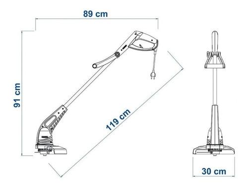 aparador cortador de grama 110v tramontina ap1000t