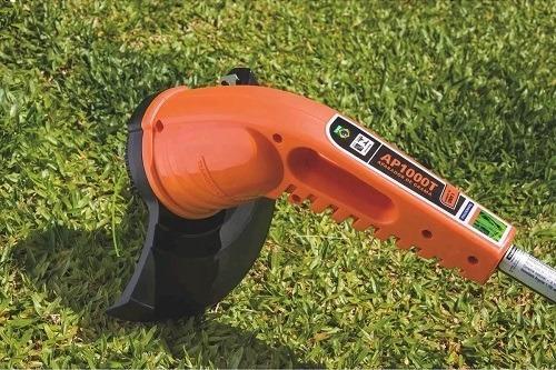 aparador cortador de grama elétrico 1000w ap1000t tramontina