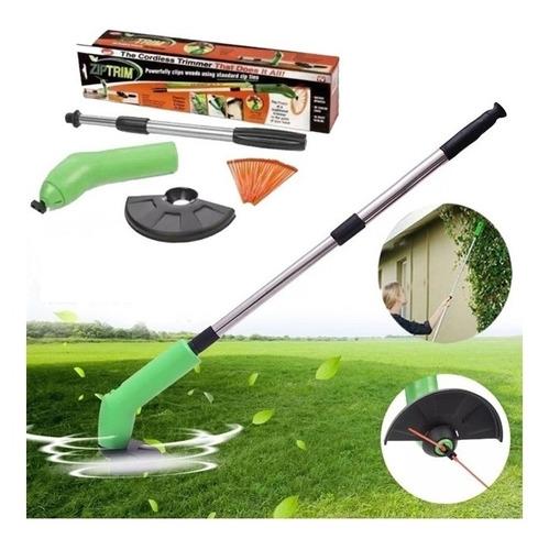 aparador cortador grama eletrico sem fio para jardim muro
