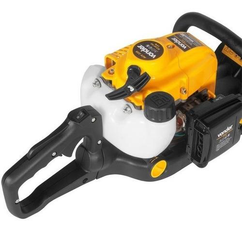 aparador de cerca viva gasolina 22,5cm³ vonder profissional