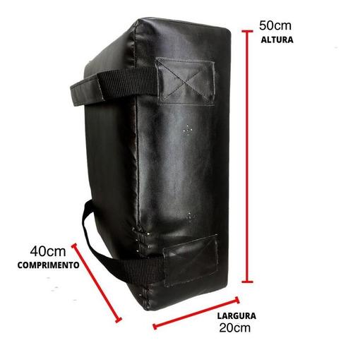 aparador de chute e joelhada grande escudo spank