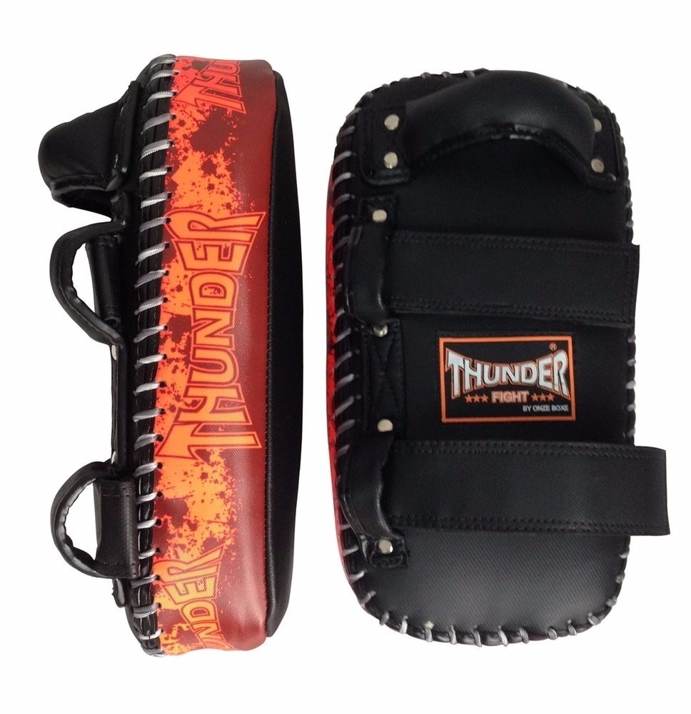 Aparador Thunder Fight ~ Aparador De Chute Pao Thai Pad Reta Manopla Thunder Fight R$ 149,90 em Mercado Livre
