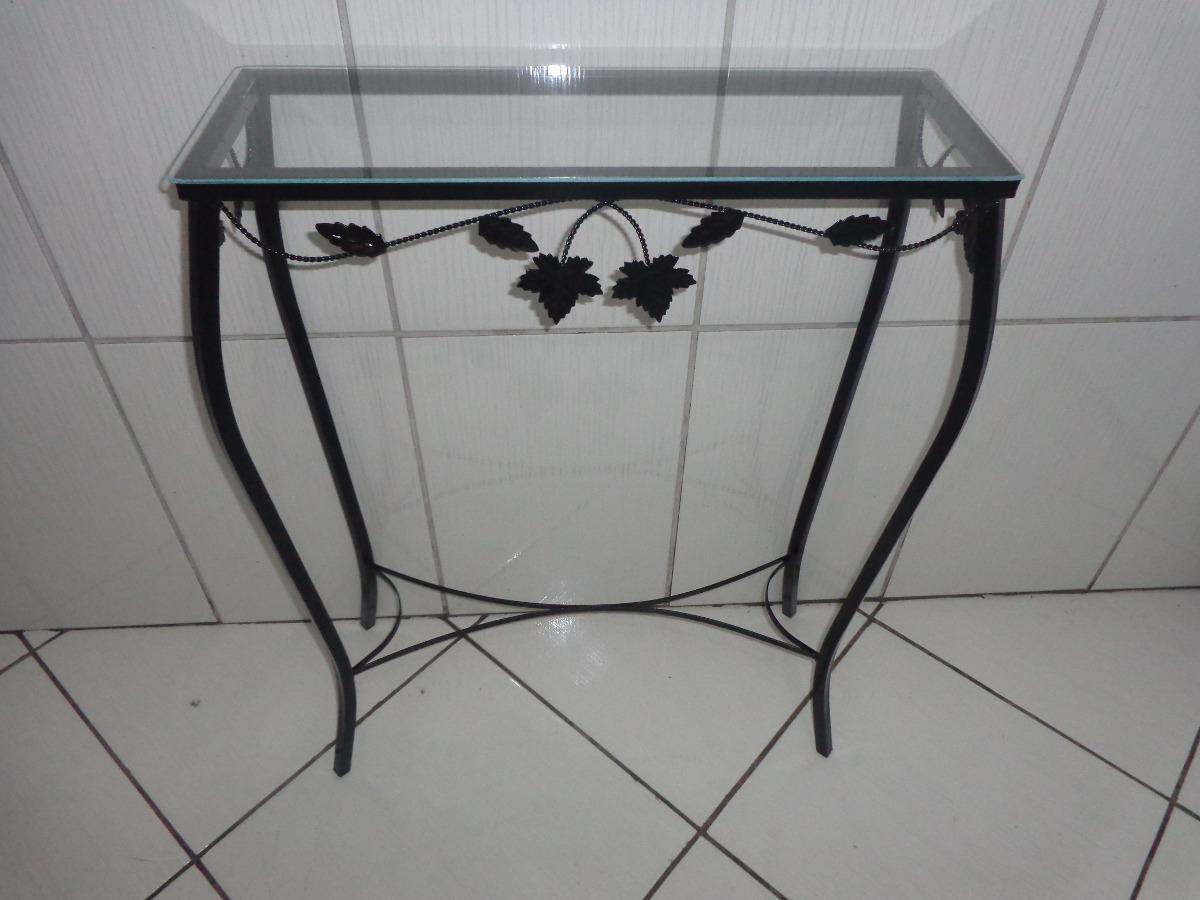 Artesanato Argila Passo A Passo ~ Aparador De Ferro Com Vidro 60 Cm Preto R$ 109,90 em Mercado Livre