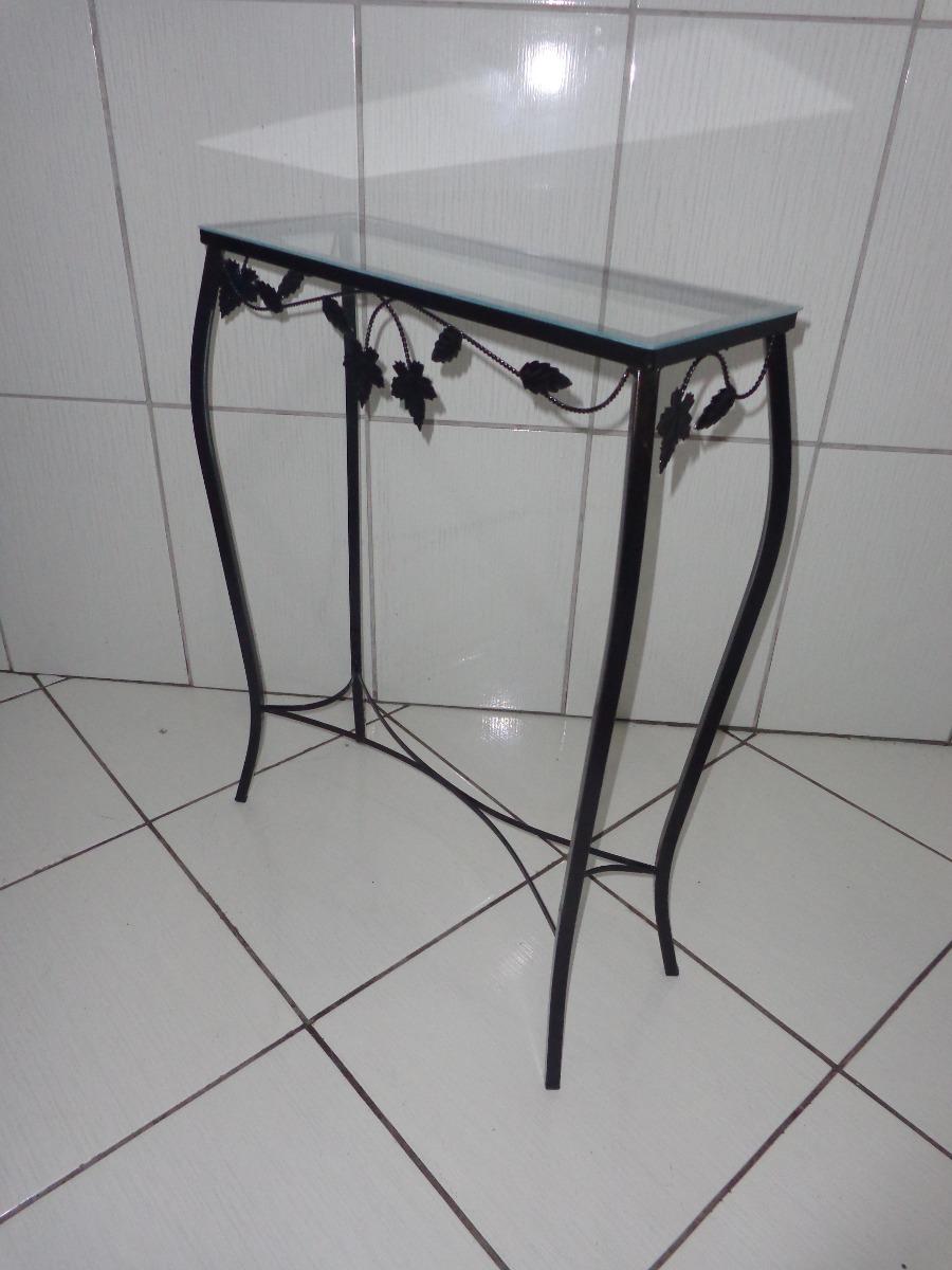 Artesanato Argila Passo A Passo ~ Aparador De Ferro Com Vidro 60 Cm Preto R$ 79,90 em Mercado Livre