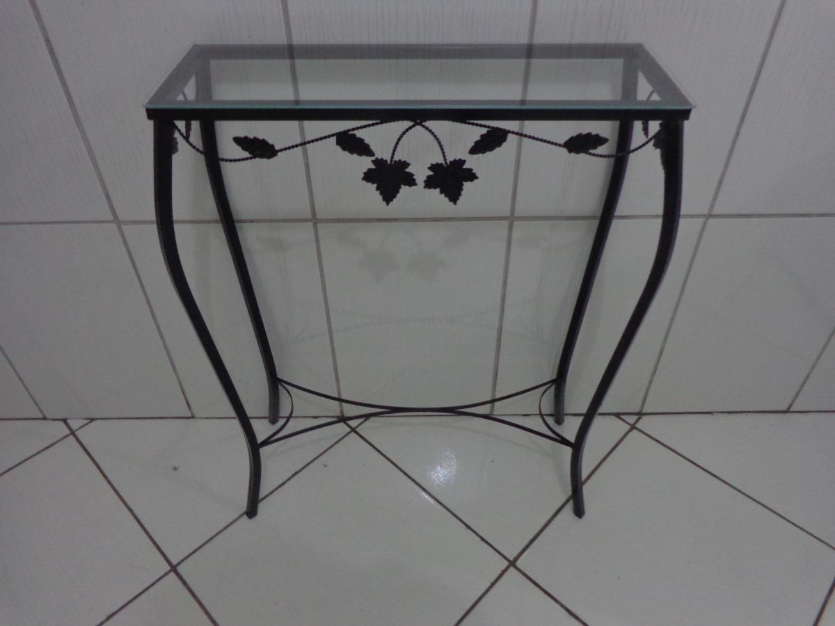 Artesanato Argila Passo A Passo ~ Aparador De Ferro Sem Vidro 60 Cm Detalhe Folha Cor Preto R$ 69,90 em Mercado Livre