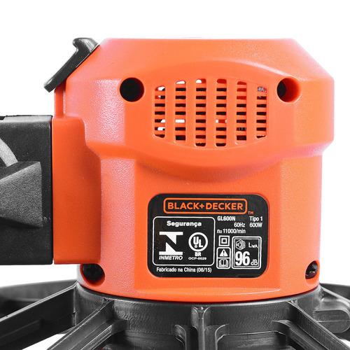 aparador de grama 600w gl600n-b2 blackedecker 220v