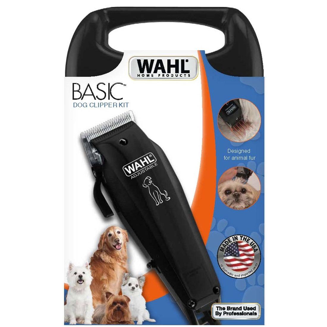 Aparador De Pelo Animal Wahl Basic Dog Clipper Pet 220v - R  274 cc95035a54e6