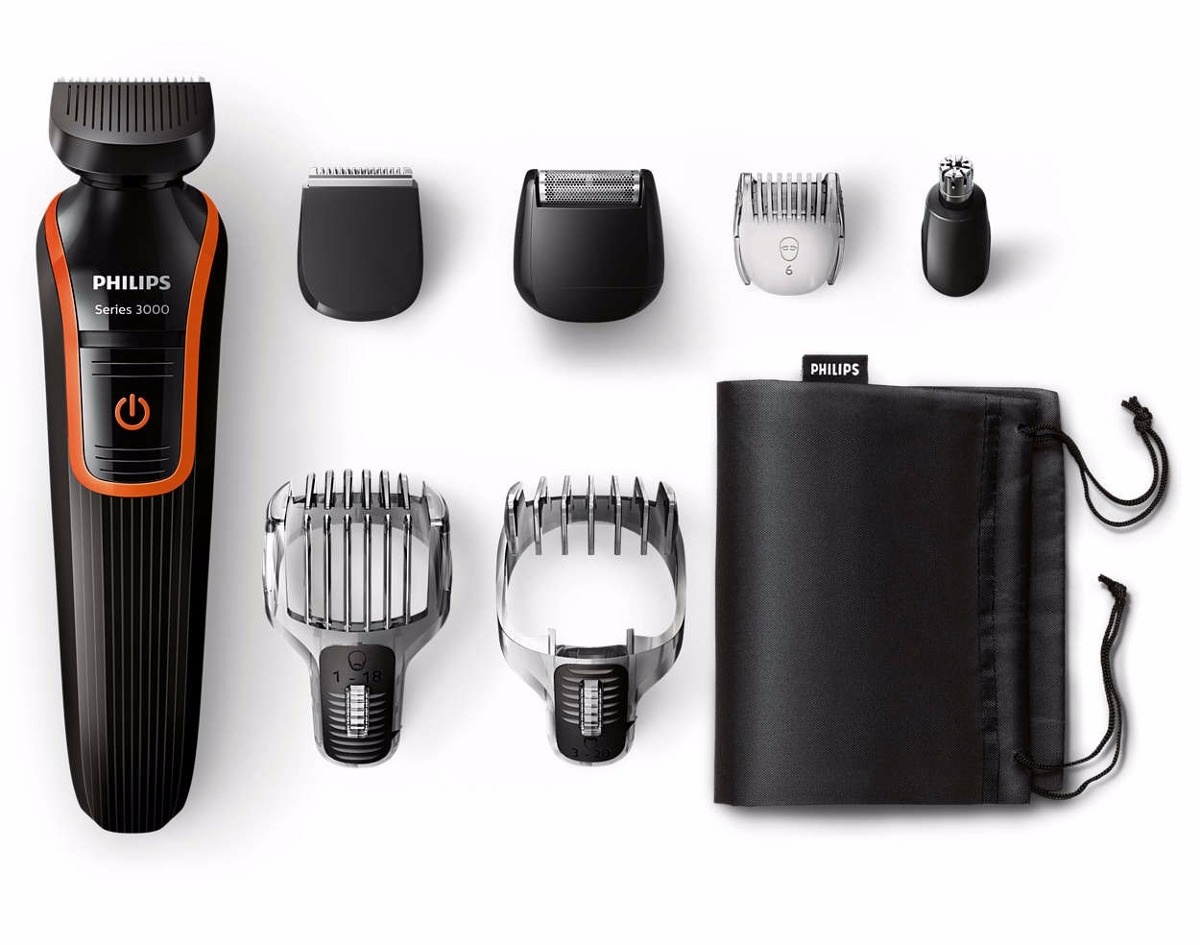 Aparador Em Baixo Da Janela ~ Aparador De Pelos Barba Philips Multigroom Bivolt Qg3340 R$ 219,99 em Mercado Livre