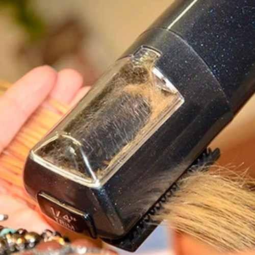 aparador de pontas duplas fasiz - corte e bordado - preto