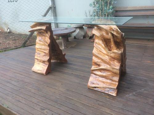 aparador de tronco de guarantã ôrganica