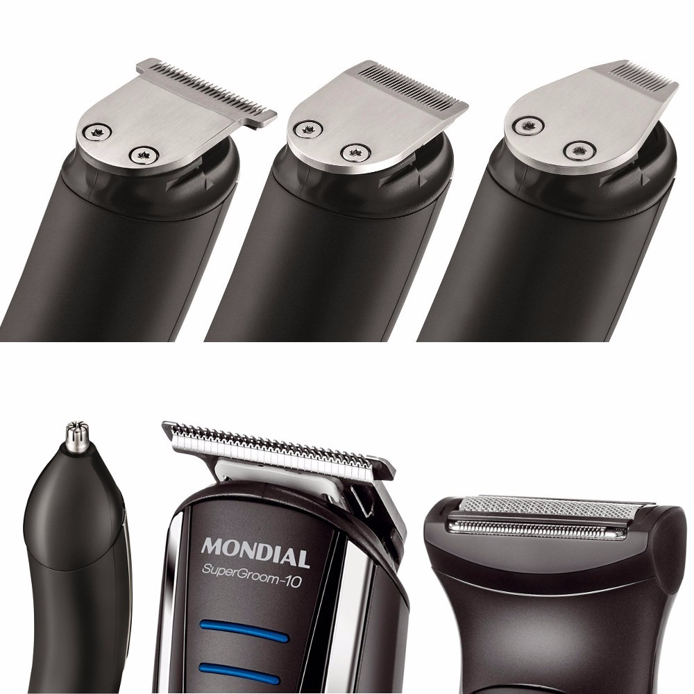 1170689a1 aparador e cortador pelos cabelo barba 10 em 1 mondial bg-03. Carregando  zoom.