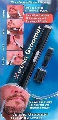 aparador e depilador de pelos nariz, sobrancelhas e orelhas