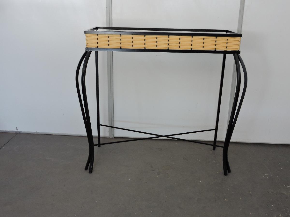 Artesanato Argila Passo A Passo ~ Aparador Em Ferro E Fibras Sintética R$ 159,00 em Mercado Livre
