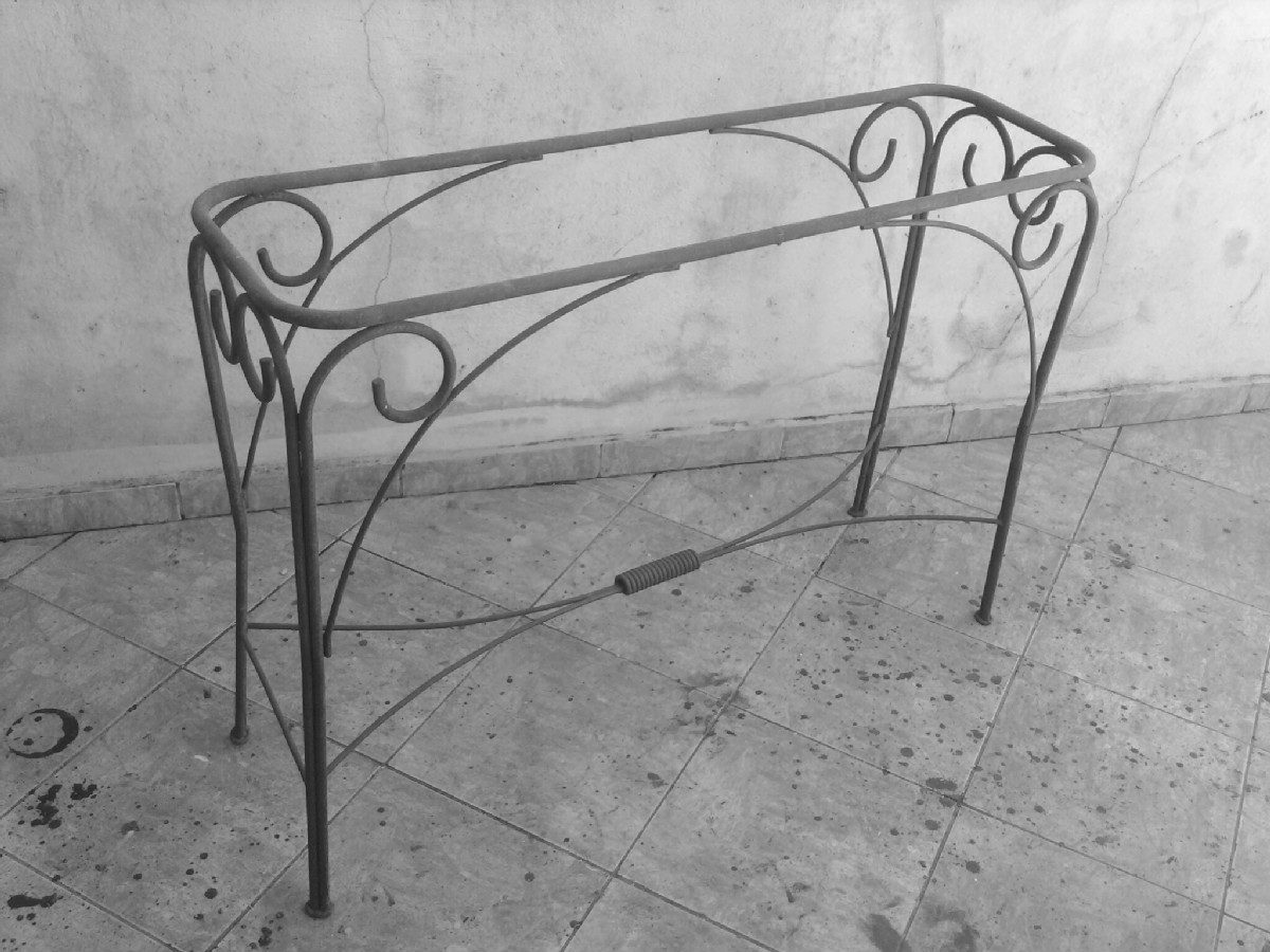 Artesanato Argila Passo A Passo ~ Aparador Em Ferro Pa Dourada Ou Preto S Vidro R$ 340,00 em Mercado Livre
