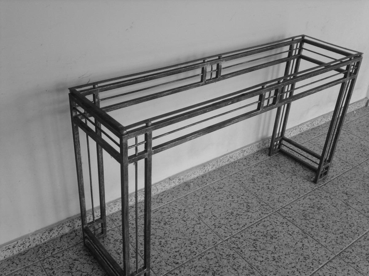 Artesanato Argila Passo A Passo ~ Aparador Em Ferro Reforçado Med 150x40x84 Alt R$ 999,99 em Mercado Livre