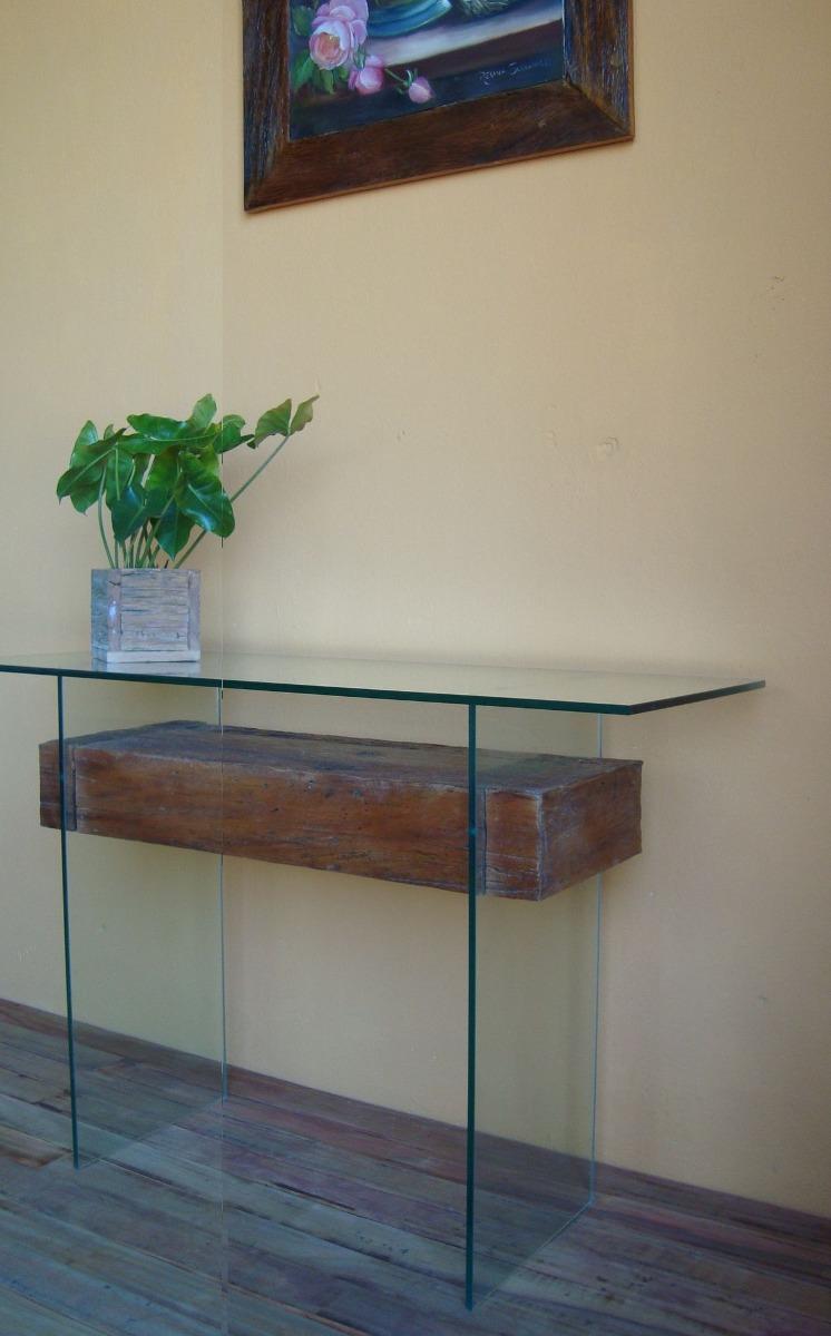 Aparador em madeira de demoli o e vidro novo modelo r em mercado livre - Modelos de aparador ...