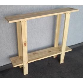 Aparador Em Madeira Reciclada De Pallet 100x30x85cm - Estilo, Classe E Sustentabilidade Para Sua Casa - Muito Bonito