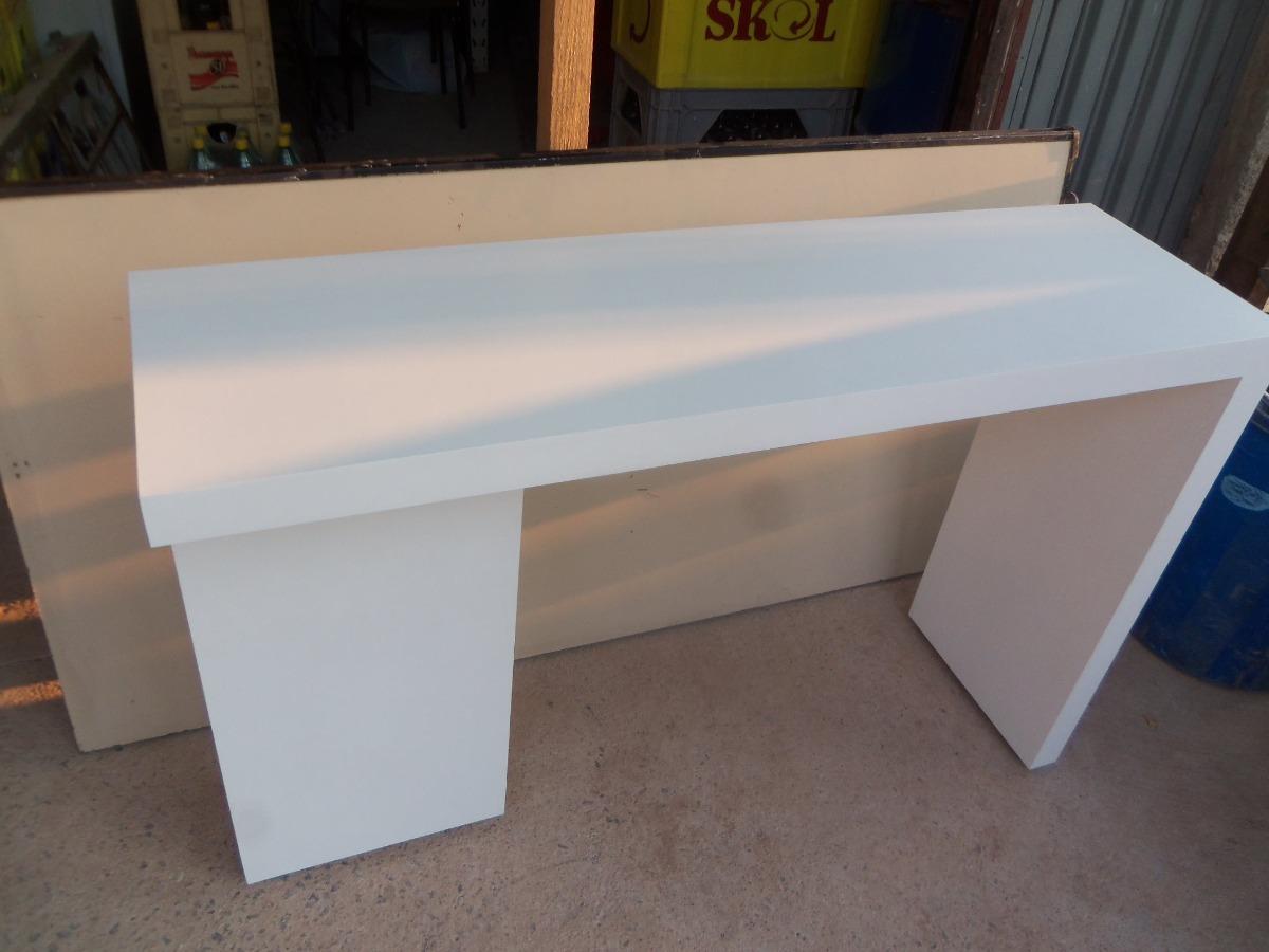 Aparador Pra Sofa ~ Aparador Em Mdf Branco 120cm De Comprimento R$ 600,00 em Mercado Livre