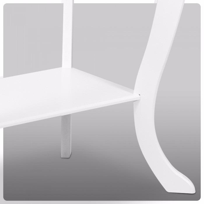 Armario Giratorio Definicion ~ Aparador Entalhado Com 2 Gavetas Cor Branco Em Mdf R