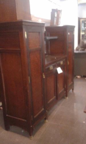 aparador estilo ingles con marqueterie.