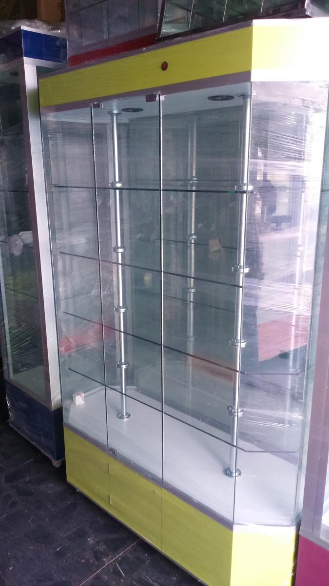 Aparador exhibidor vitrinas mostradores de cristal for Aparadores y vitrinas comedor
