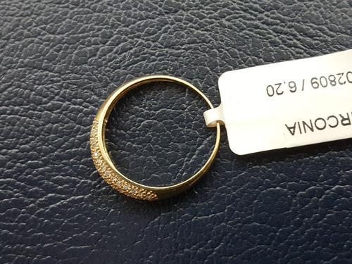 aparador feminino ouro 18k brilhantes sintéticos (preço bom)