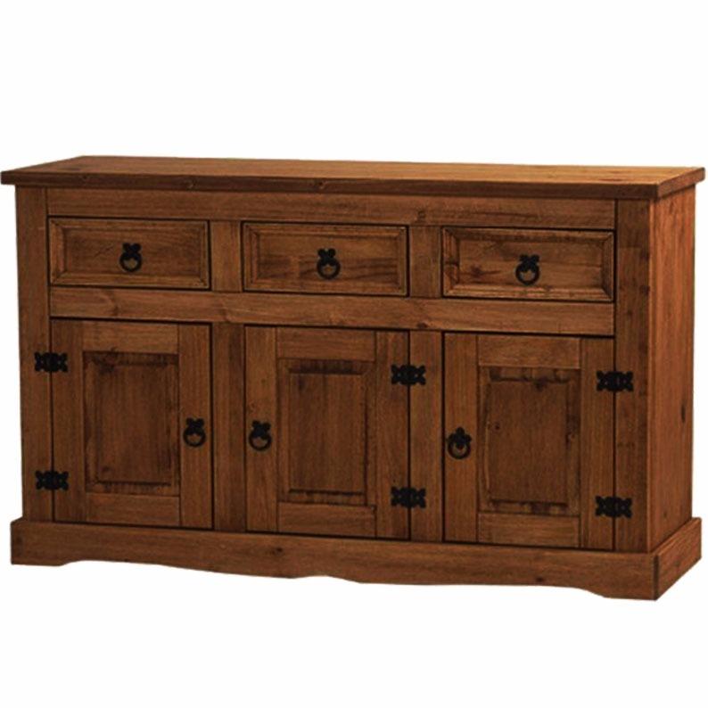 Mueble aparador bargue o living comedor madera for Muebles de jardin uruguay
