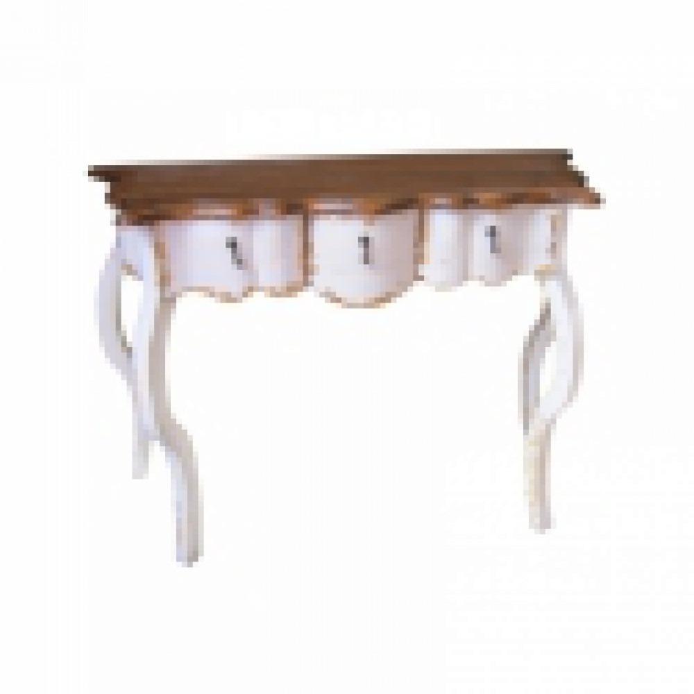 Aparador Sofa ~ Aparador Madeira Maciça Provençal Branco 03 Gav Impeca