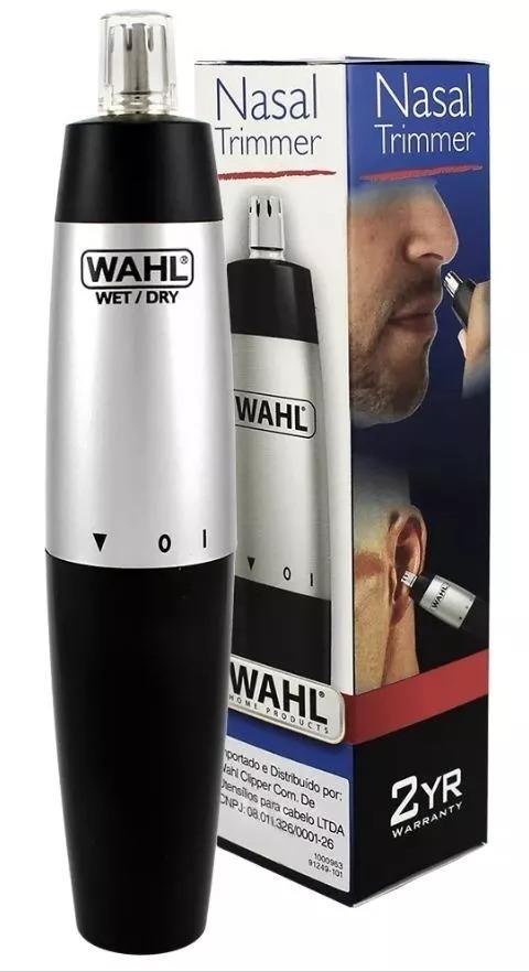 aparador nasal de pelos nariz e orelha trimmer portátil wahl. Carregando  zoom. a263fde4bda3