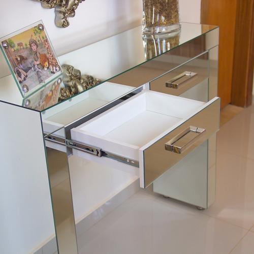 Adesivo Ploter De Recorte ~ Aparador Penteadeira De Espelho Lapidado Para Sala Quarto R$ 687,00 em Mercado Livre