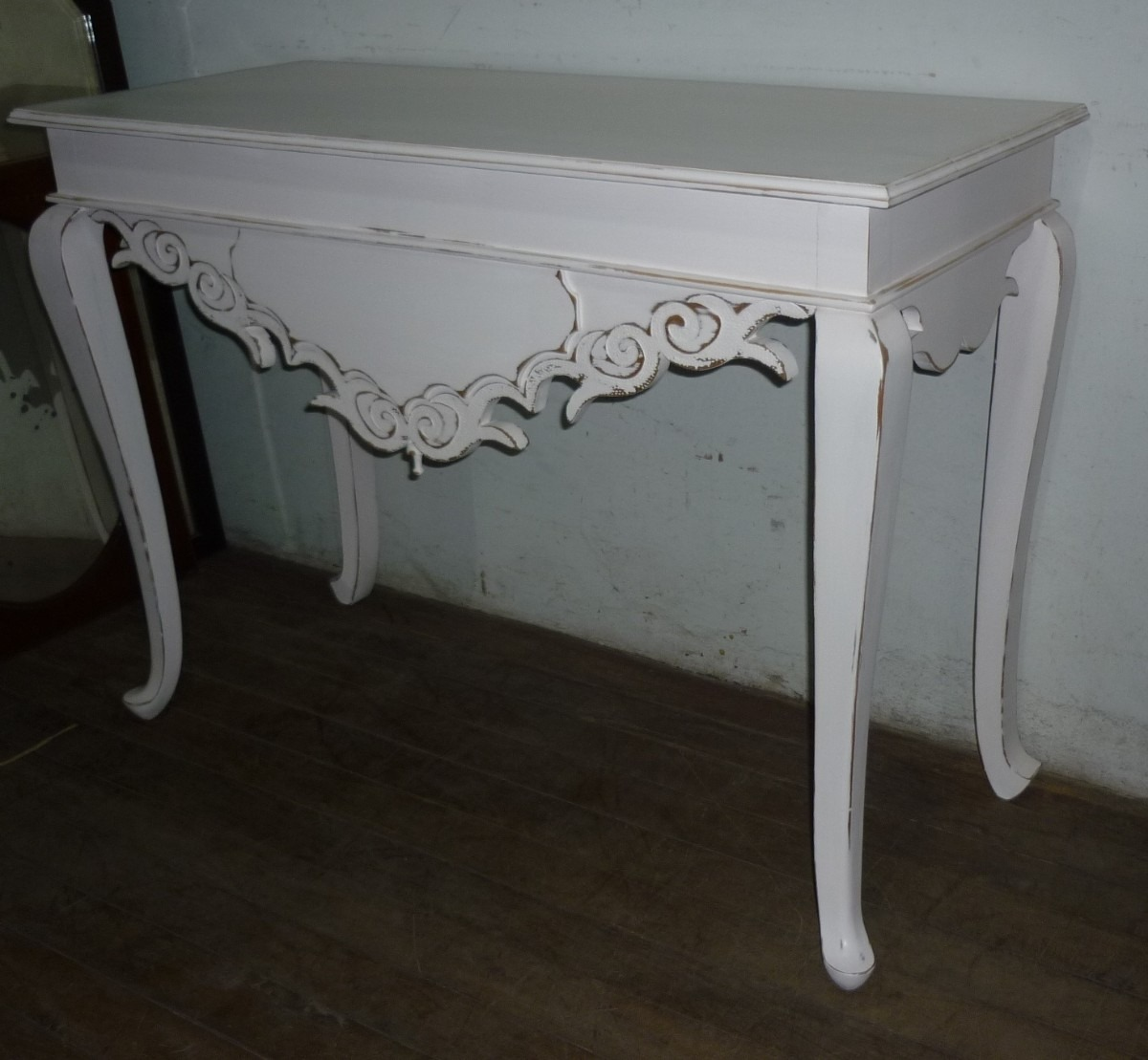 Artesanato Com Feltro Moldes ~ Aparador Pintura Provençal Branco R$ 1 700,00 em Mercado Livre