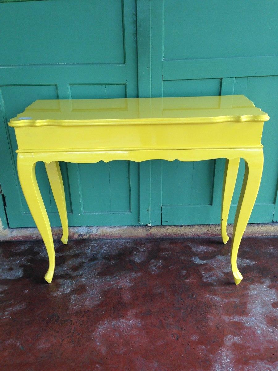 Adesivo De Levantar Mama ~ Aparador Provençal Amarelo (0294) R$ 800,00 em Mercado Livre