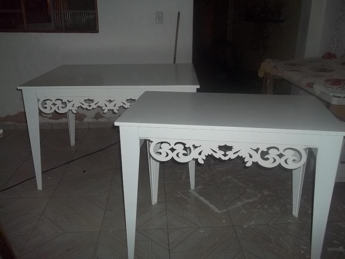 Aparador Sofa ~ Aparador Provençal Em Mdf Pintado R$ 240,00 em Mercado Livre