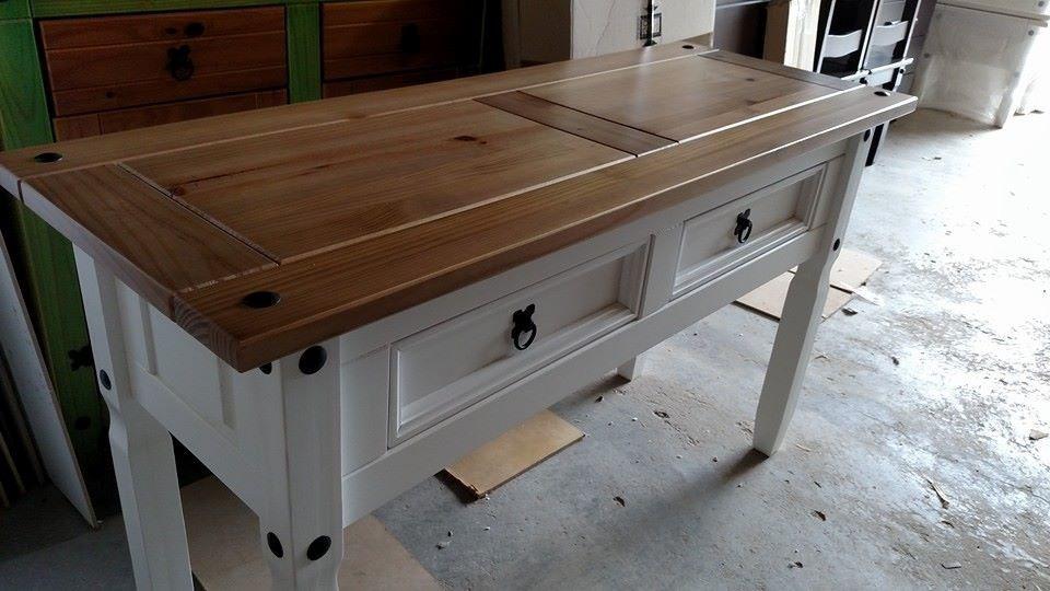 Adesivo De Madeira Para Moveis ~ Aparador; Rustico ,madeira Maciça;mesa Em Madeira;moveis R$ 422,00 em Mercado Livre