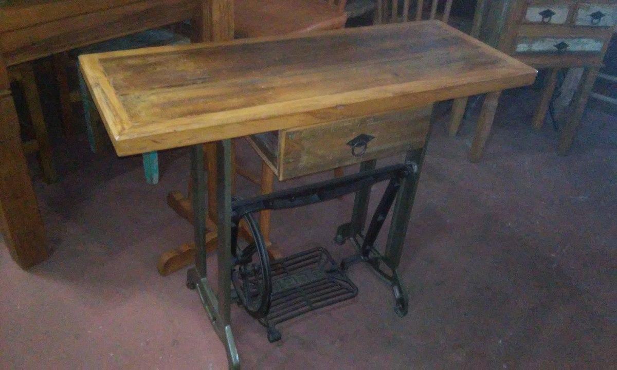 Artesanato Em Uruguai ~ Aparador Rustico Maquina De Costura Antiga Peça Retro R$ 499,00 em Mercado Livre