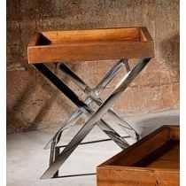 aparadores de madeira demolição e inox - conjunto