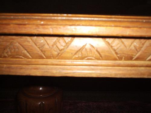 aparadouro  madeira nobre antiguidade