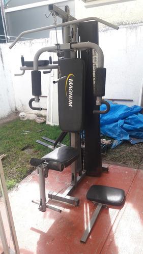aparato de ejercicio magnum 2 estaciones