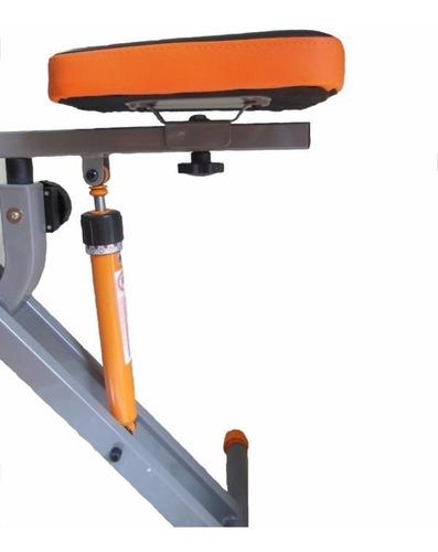 aparato gimnasia maquina multifuncion + bicicleta hidraulica