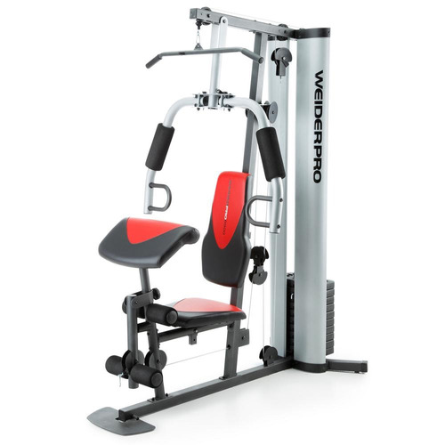 aparato gimnasio weider pro 6900 pesas 79 kg resistencia